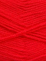 Fiber Content 100% Acrylic, Salmon, Brand ICE, Yarn Thickness 3 Light  DK, Light, Worsted, fnt2-52093