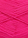 Fiber Content 100% Acrylic, Brand ICE, Fuchsia, Yarn Thickness 3 Light  DK, Light, Worsted, fnt2-52099