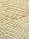 Fiber Content 70% Acrylic, 30% Wool, Brand ICE, Cream, Yarn Thickness 4 Medium  Worsted, Afghan, Aran, fnt2-52606