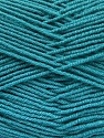 Fiber Content 70% Acrylic, 30% Wool, Brand ICE, Emerald Green, Yarn Thickness 4 Medium  Worsted, Afghan, Aran, fnt2-52610