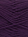 Fiber Content 70% Acrylic, 30% Wool, Purple, Brand ICE, Yarn Thickness 4 Medium  Worsted, Afghan, Aran, fnt2-52614