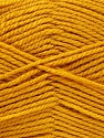 Worsted  Fiber Content 100% Acrylic, Brand ICE, Gold, Yarn Thickness 4 Medium  Worsted, Afghan, Aran, fnt2-52671