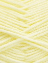 Worsted  Fiber Content 100% Acrylic, Lemon Yellow, Brand ICE, Yarn Thickness 4 Medium  Worsted, Afghan, Aran, fnt2-52729
