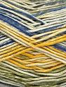Fiber Content 50% Cotton, 50% Acrylic, Yellow, Brand ICE, Green, Cream, Blue, Yarn Thickness 2 Fine  Sport, Baby, fnt2-52919
