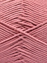 Baby cotton is a 100% premium giza cotton yarn exclusively made as a baby yarn. It is anti-bacterial and machine washable! İçerik 100% Giza Cotton, Rose Pink, Brand Ice Yarns, Yarn Thickness 3 Light DK, Light, Worsted, fnt2-53074