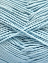 Baby cotton is a 100% premium giza cotton yarn exclusively made as a baby yarn. It is anti-bacterial and machine washable! İçerik 100% Giza Cotton, Light Blue, Brand Ice Yarns, Yarn Thickness 3 Light DK, Light, Worsted, fnt2-53081