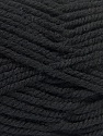 Fiber Content 100% Acrylic, Brand ICE, Black, Yarn Thickness 5 Bulky  Chunky, Craft, Rug, fnt2-53169