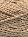 Fiber Content 100% Acrylic, Brand Ice Yarns, Beige, Yarn Thickness 5 Bulky  Chunky, Craft, Rug, fnt2-53174