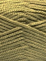 Fiber Content 100% Acrylic, Light Khaki, Brand ICE, Yarn Thickness 5 Bulky  Chunky, Craft, Rug, fnt2-53179