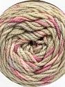 Fiber Content 80% Acrylic, 20% Polyamide, Orchid, Brand ICE, Beige, Baby Pink, Yarn Thickness 4 Medium  Worsted, Afghan, Aran, fnt2-53206
