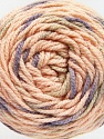 Fiber Content 80% Acrylic, 20% Polyamide, Powder, Lilac, Brand ICE, Beige, Yarn Thickness 4 Medium  Worsted, Afghan, Aran, fnt2-53207