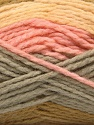 Contenido de fibra 70% Acrílico, 30% Lana, Pink, Olive Green, Light Yellow, Brand Ice Yarns, Grey, Yarn Thickness 4 Medium Worsted, Afghan, Aran, fnt2-53553