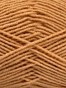 Fiber Content 70% Acrylic, 30% Wool, Light Brown, Brand ICE, Yarn Thickness 4 Medium  Worsted, Afghan, Aran, fnt2-53713