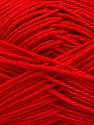 Fiber Content 100% Mercerised Cotton, Red, Brand ICE, Yarn Thickness 2 Fine  Sport, Baby, fnt2-53798