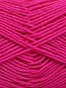 Fiber Content 100% Mercerised Cotton, Brand ICE, Fuchsia, Yarn Thickness 2 Fine  Sport, Baby, fnt2-53805