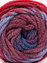 Fiber Content 70% Acrylic, 30% Wool, Red, Maroon, Lilac, Brand ICE, Blue, Yarn Thickness 5 Bulky  Chunky, Craft, Rug, fnt2-54075