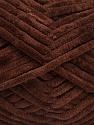 Fiber Content 100% Micro Fiber, Brand ICE, Dark Brown, Yarn Thickness 4 Medium  Worsted, Afghan, Aran, fnt2-54143