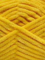 Fiber Content 100% Micro Fiber, Yellow, Brand ICE, Yarn Thickness 4 Medium  Worsted, Afghan, Aran, fnt2-54149