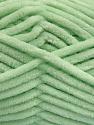 Fiber Content 100% Micro Fiber, Mint Green, Brand ICE, Yarn Thickness 4 Medium  Worsted, Afghan, Aran, fnt2-54151