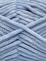 Fiber Content 100% Micro Fiber, Light Indigo Blue, Brand ICE, Yarn Thickness 4 Medium  Worsted, Afghan, Aran, fnt2-54152