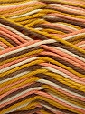 Fiber Content 100% Cotton, White, Salmon, Brand ICE, Gold, Camel, Yarn Thickness 3 Light  DK, Light, Worsted, fnt2-54349