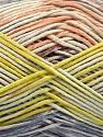Fiber Content 50% Cotton, 50% Acrylic, Salmon, Lilac, Light Green, Brand ICE, Yarn Thickness 2 Fine  Sport, Baby, fnt2-54484