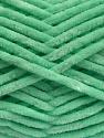 Fiber Content 100% Micro Fiber, Mint Green, Brand ICE, Yarn Thickness 4 Medium  Worsted, Afghan, Aran, fnt2-54509