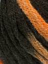 Fiber Content 50% Wool, 50% Acrylic, Orange, Brand ICE, Brown, Blue, Yarn Thickness 6 SuperBulky  Bulky, Roving, fnt2-54766