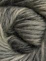 Fiber Content 100% Wool, Brand ICE, Grey Shades, Yarn Thickness 4 Medium  Worsted, Afghan, Aran, fnt2-55795