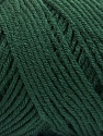 Items made with this yarn are machine washable & dryable. İçerik 100% Dralon Acrylic, Brand Ice Yarns, Dark Green, Yarn Thickness 4 Medium Worsted, Afghan, Aran, fnt2-55826