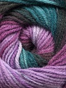 Fiber Content 100% Acrylic, Turquoise, Purple Shades, Brand ICE, Brown, Yarn Thickness 3 Light  DK, Light, Worsted, fnt2-55952