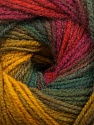 Fiber Content 100% Acrylic, Yellow, Red, Pink, Brand ICE, Green Shades, Fuchsia, Yarn Thickness 3 Light  DK, Light, Worsted, fnt2-55957