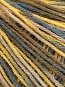Fiber Content 50% Acrylic, 50% Wool, Yellow, Brand ICE, Grey, Camel, Beige, Yarn Thickness 3 Light  DK, Light, Worsted, fnt2-56204
