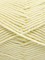 Fiber Content 50% SuperFine Acrylic, 50% SuperFine Nylon, Brand ICE, Cream, Yarn Thickness 4 Medium  Worsted, Afghan, Aran, fnt2-56283