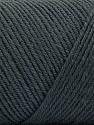 Fiber Content 50% Acrylic, 50% Wool, Brand ICE, Dark Grey, Yarn Thickness 3 Light  DK, Light, Worsted, fnt2-56426