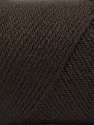 Fiber Content 50% Wool, 50% Acrylic, Brand Ice Yarns, Coffee Brown, Yarn Thickness 3 Light DK, Light, Worsted, fnt2-56427