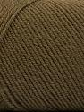 Fiber Content 50% Wool, 50% Acrylic, Brand ICE, Camel, Yarn Thickness 3 Light  DK, Light, Worsted, fnt2-56429