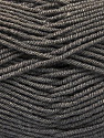 Fiber Content 70% Acrylic, 30% Wool, Brand ICE, Dark Grey, Yarn Thickness 4 Medium  Worsted, Afghan, Aran, fnt2-56559