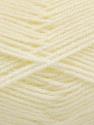 Fiber Content 100% Acrylic, Ivory, Brand ICE, Yarn Thickness 3 Light  DK, Light, Worsted, fnt2-56560