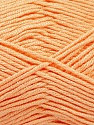 Fiber Content 50% Acrylic, 50% Bamboo, Light Salmon, Brand ICE, Yarn Thickness 2 Fine  Sport, Baby, fnt2-56579