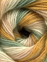 Fiber Content 60% Acrylic, 20% Wool, 20% Angora, Light Pink, Brand ICE, Green, Gold, Cream, Yarn Thickness 2 Fine  Sport, Baby, fnt2-56670