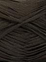 Fiber Content 100% Acrylic, Brand ICE, Dark Brown, Yarn Thickness 3 Light  DK, Light, Worsted, fnt2-56697