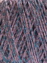 Fiber Content 85% Viscose, 15% Metallic Lurex, Lilac, Brand ICE, Blue, Yarn Thickness 3 Light  DK, Light, Worsted, fnt2-57026