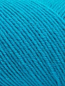 Fiber Content 50% Wool, 50% Acrylic, Turquoise, Brand ICE, Yarn Thickness 3 Light  DK, Light, Worsted, fnt2-57179