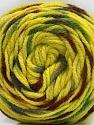 Fiber Content 80% Acrylic, 20% Polyamide, Yellow, Brand ICE, Grey, Green, Brown, Yarn Thickness 4 Medium  Worsted, Afghan, Aran, fnt2-57343