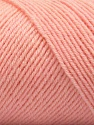 Fiber Content 50% Wool, 50% Acrylic, Light Salmon, Brand ICE, Yarn Thickness 3 Light  DK, Light, Worsted, fnt2-57346