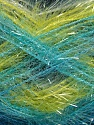 Fiber Content 100% Polyester, Turquoise, Navy, Brand ICE, Green, Blue, Yarn Thickness 4 Medium  Worsted, Afghan, Aran, fnt2-57396