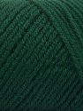 Items made with this yarn are machine washable & dryable. Fiber Content 100% Acrylic, Brand ICE, Dark Green, Yarn Thickness 4 Medium  Worsted, Afghan, Aran, fnt2-57414