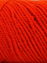 Items made with this yarn are machine washable & dryable. Fiber Content 100% Acrylic, Brand ICE, Dark Orange, Yarn Thickness 4 Medium  Worsted, Afghan, Aran, fnt2-57426