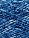 Fiber Content 70% Acrylic, 30% Wool, Brand ICE, Blue Shades, Yarn Thickness 4 Medium  Worsted, Afghan, Aran, fnt2-57647
